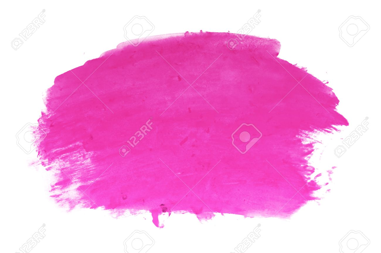 Bright Pink Paint Hot Pink Watercolor Background Stock Photo Picture And Royalty