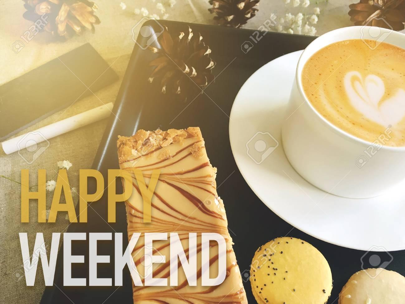 Resultado de imagen de feliz finde con cafe