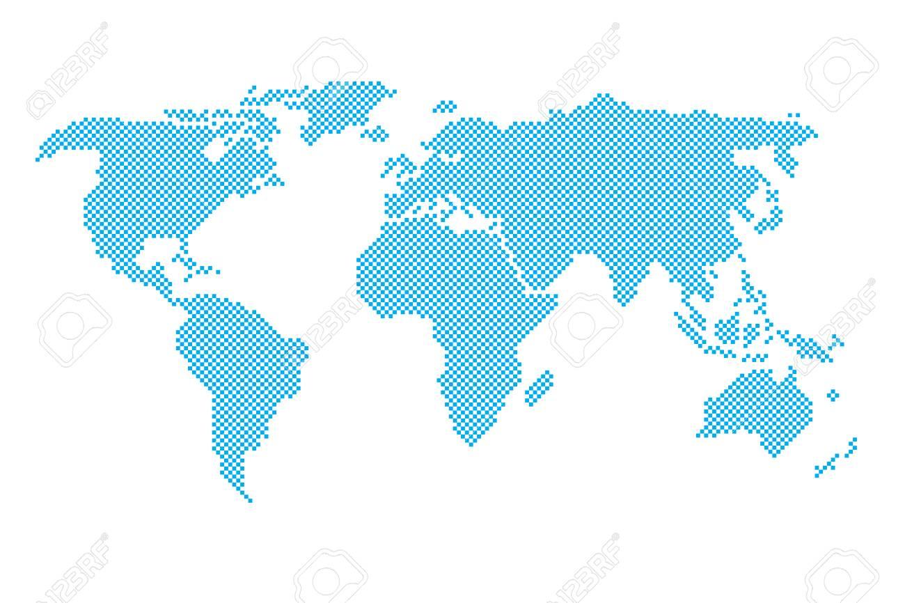 世界地図イラストのイラスト素材ベクタ Image 72972861