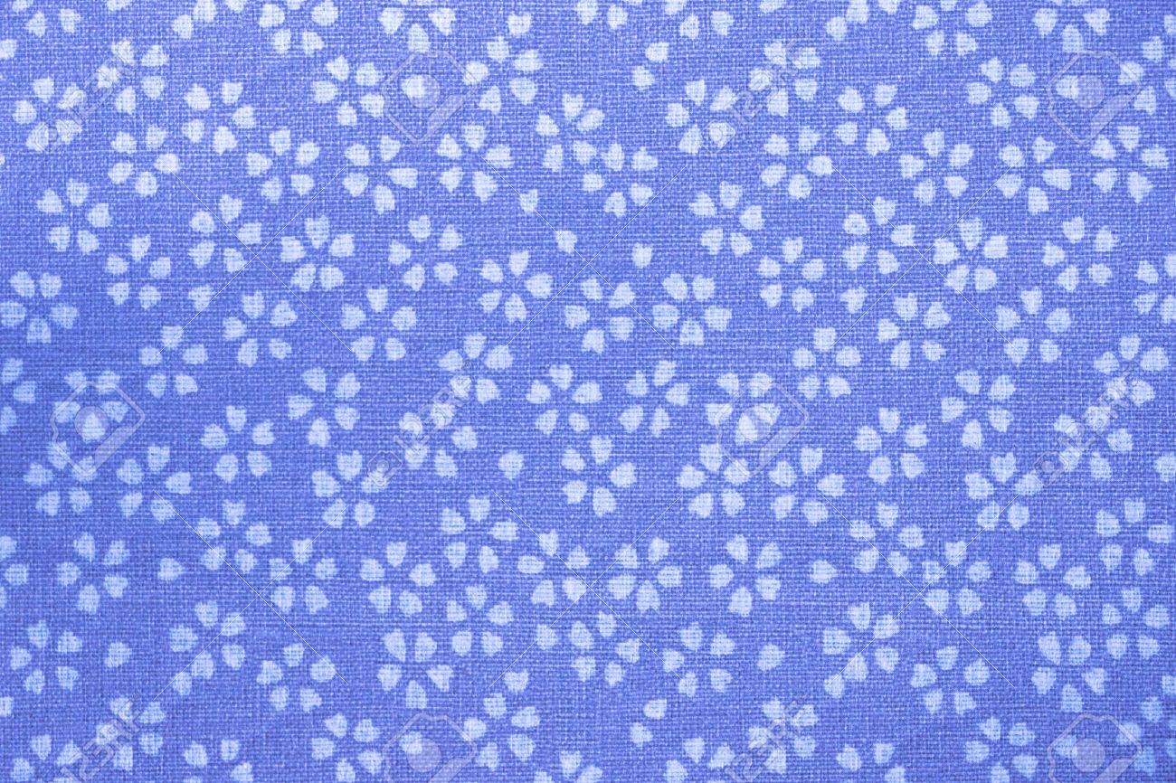Traditional Japanese Pattern Paper Flowers Pattern Stock Photo
