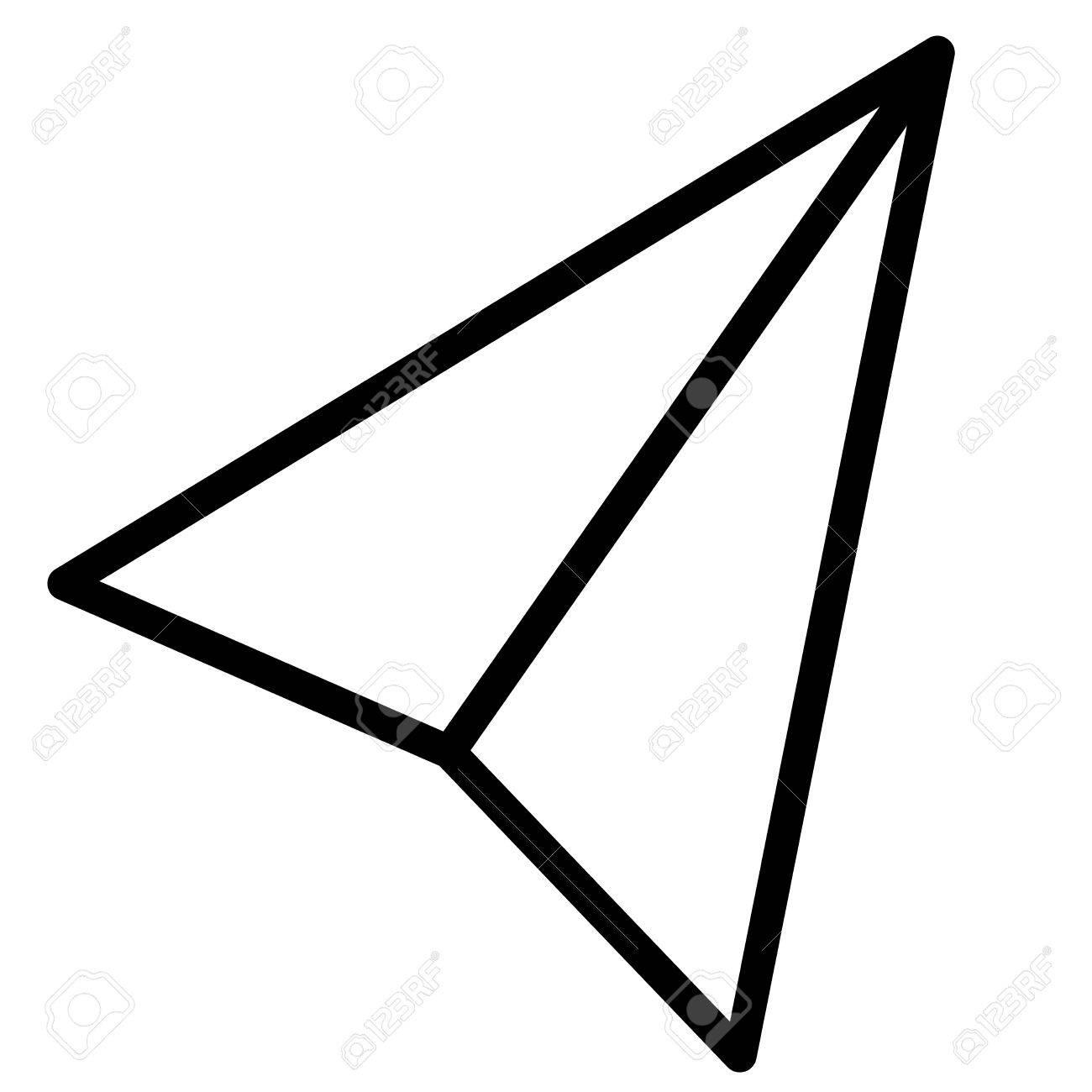 紙 飛行機 イラスト