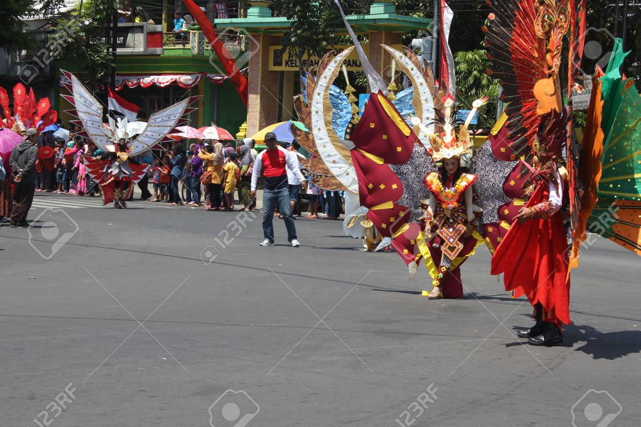 Indonesia Independence Day Carnival In Malang East Java Indonesia Stock Photo Picture And Royalty Free Image Image 98564873