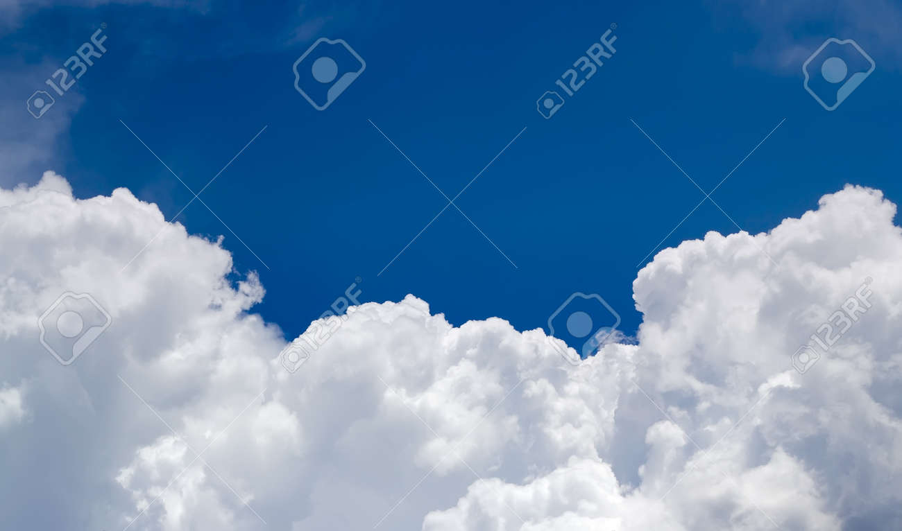 Cluodscape Sky background over the blue sky Stock Photo - 9632553