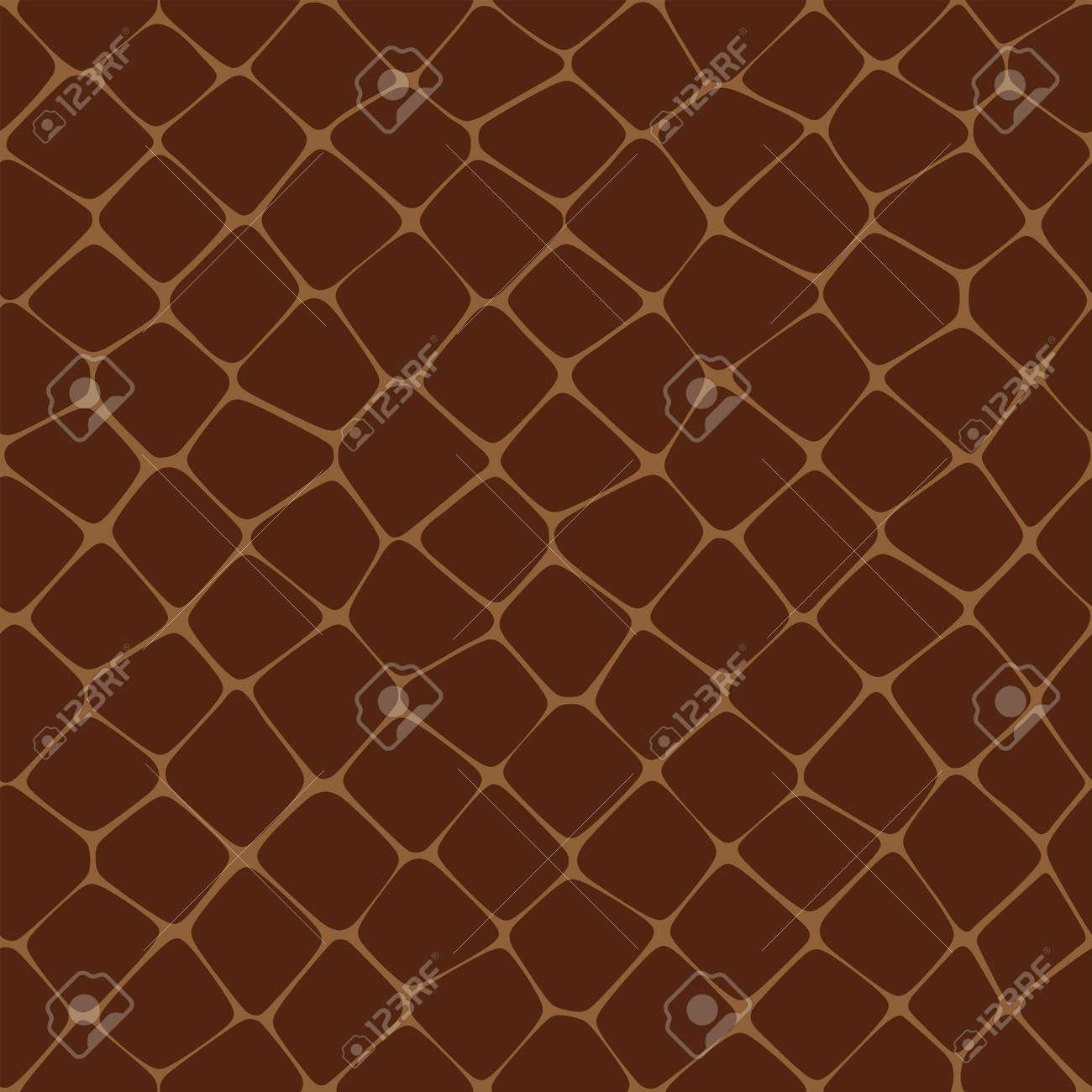 Seamless Vector illustration of Reptilian Skin Standard-Bild - 12308576