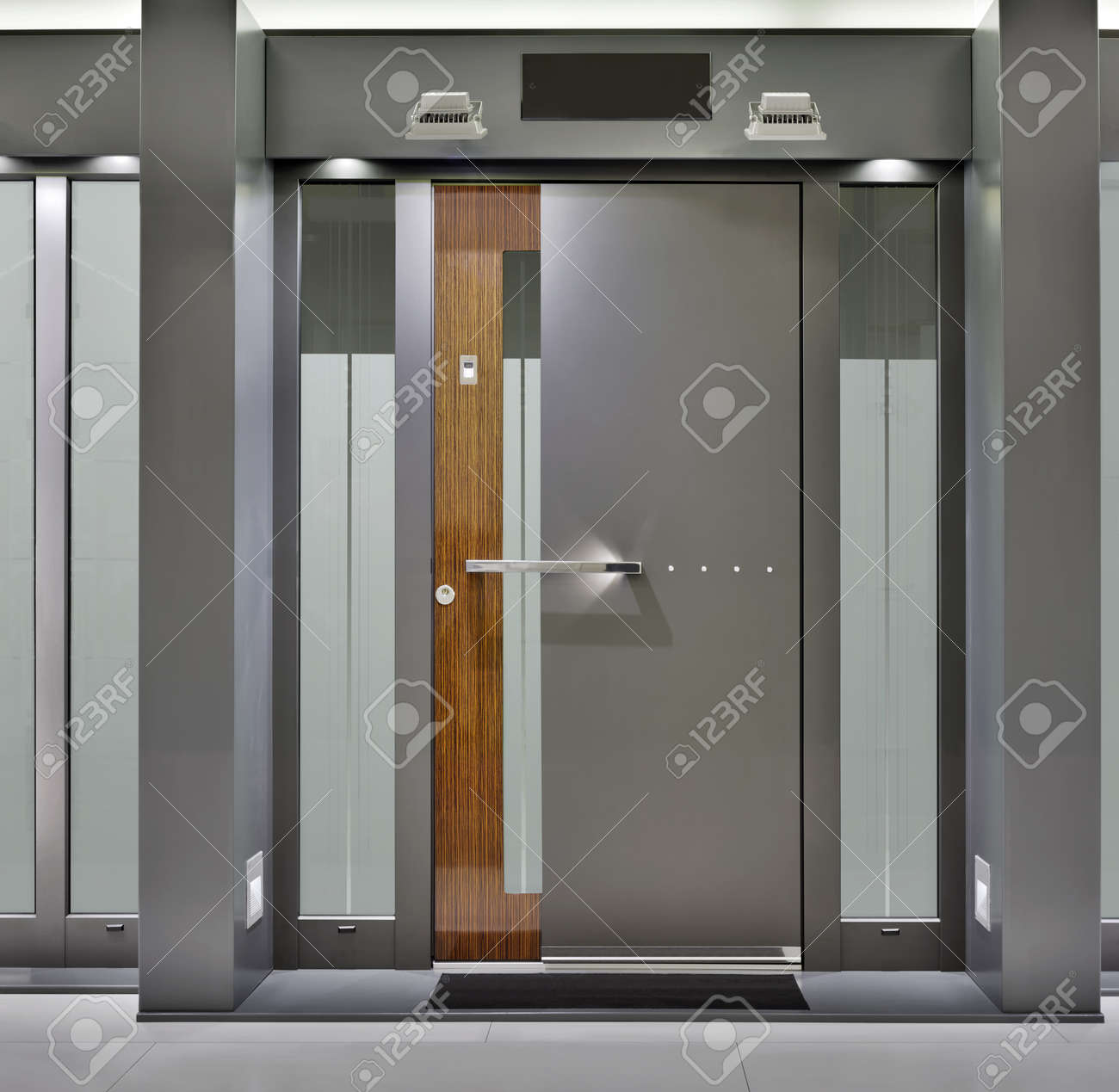 barriers to entry: Massive Metallic Fireproof Front Door & Barriers To Entry Stock Photos Images. Royalty Free Barriers To ... Pezcame.Com
