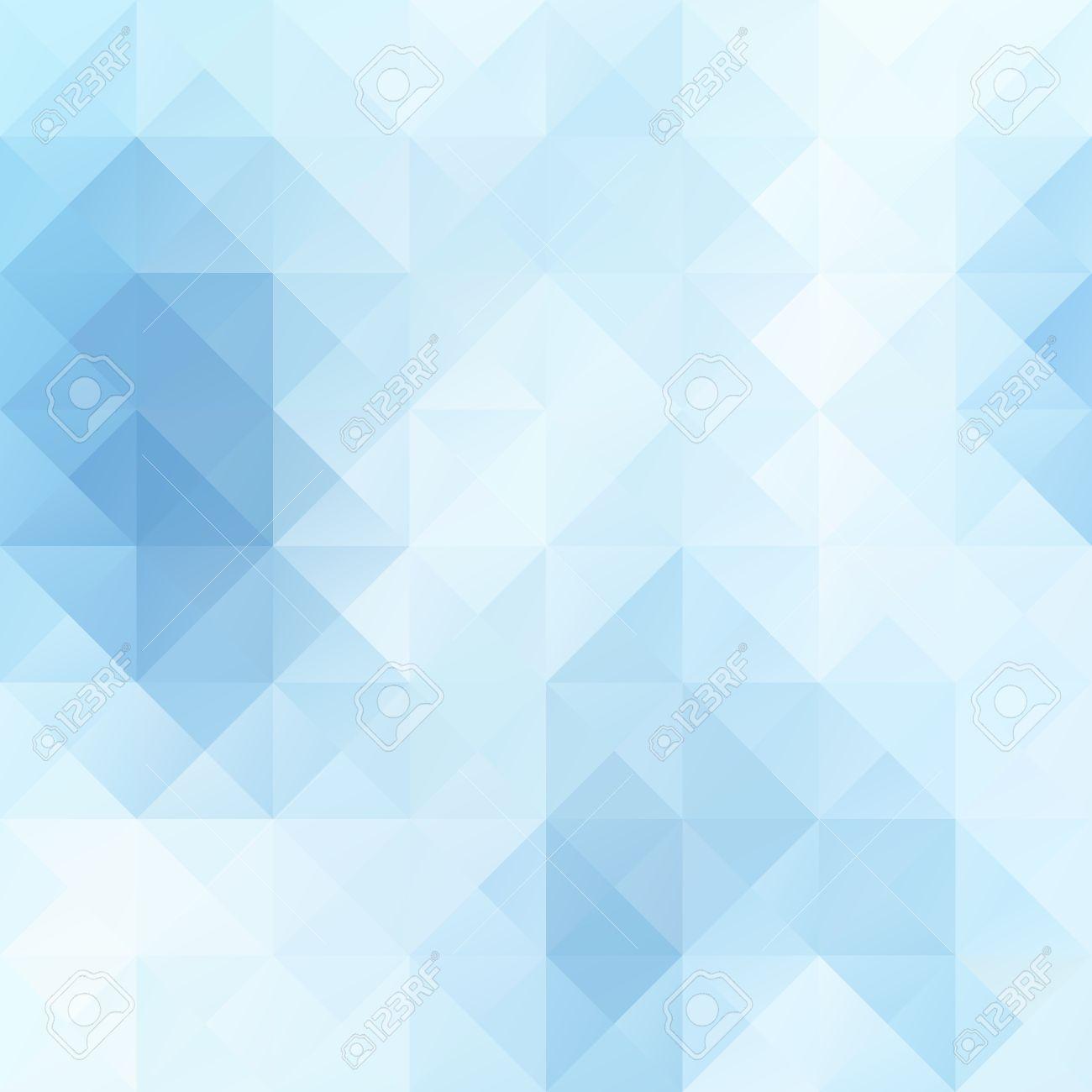Blau Weiß Hell Mosaik Hintergrund, Kreativ-Design-Vorlagen ...