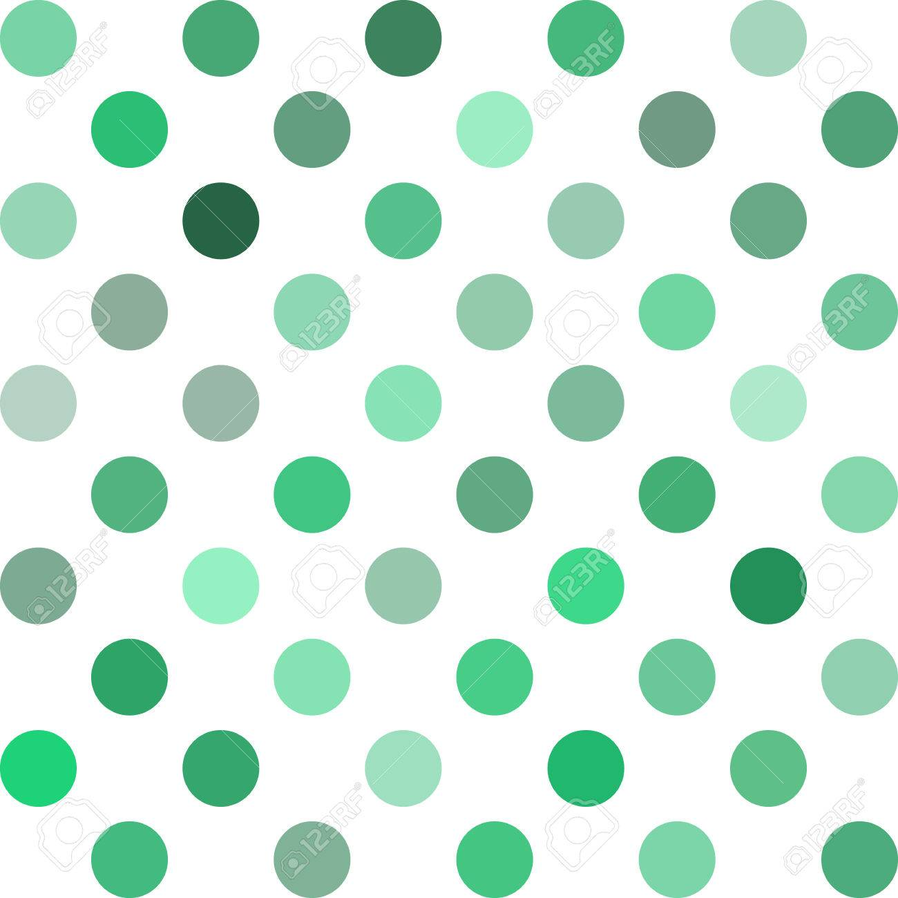 Grüne Tupfen-Hintergrund, Kreatives Design Vorlagen Lizenzfrei ...