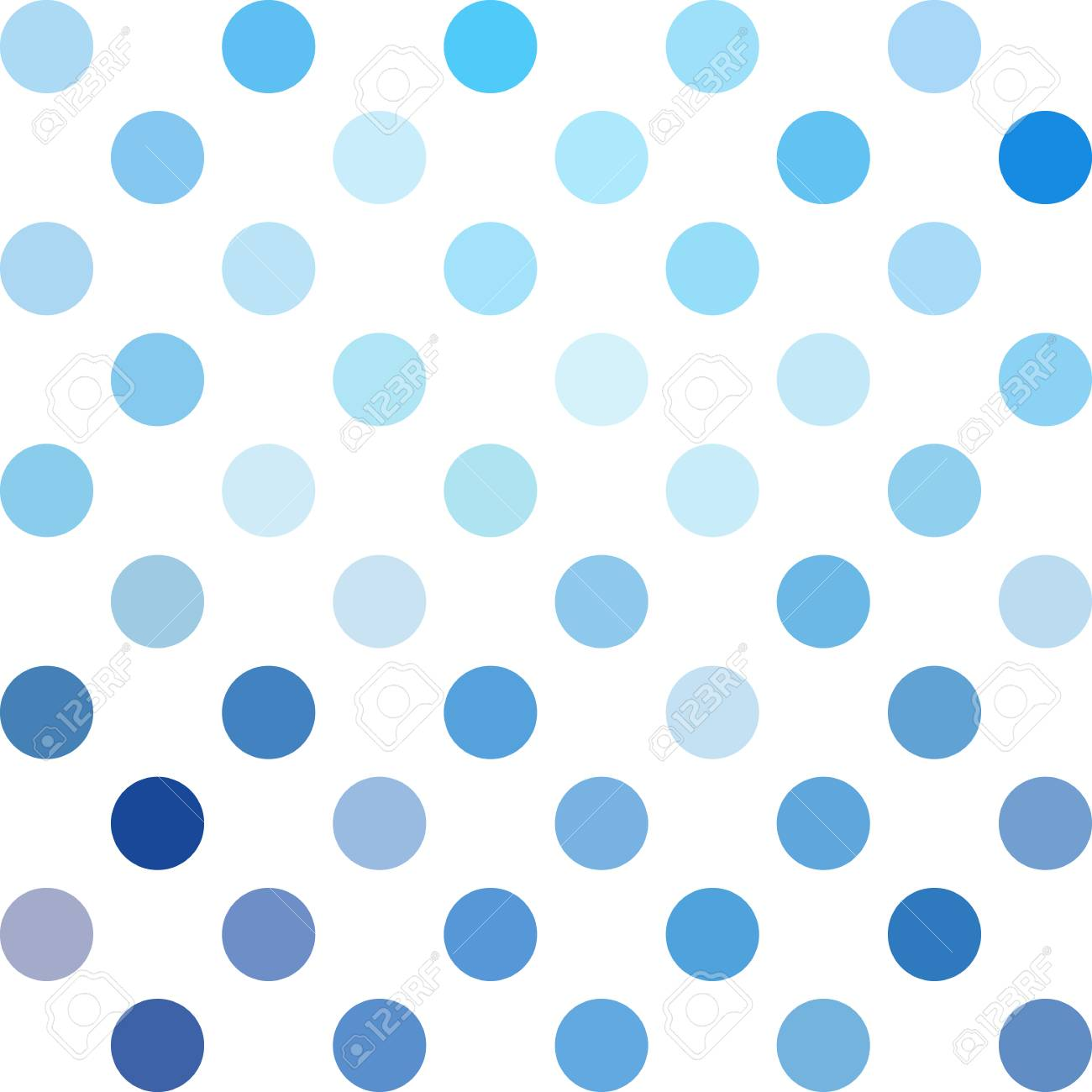 blue polka dots background creative design templates royalty free