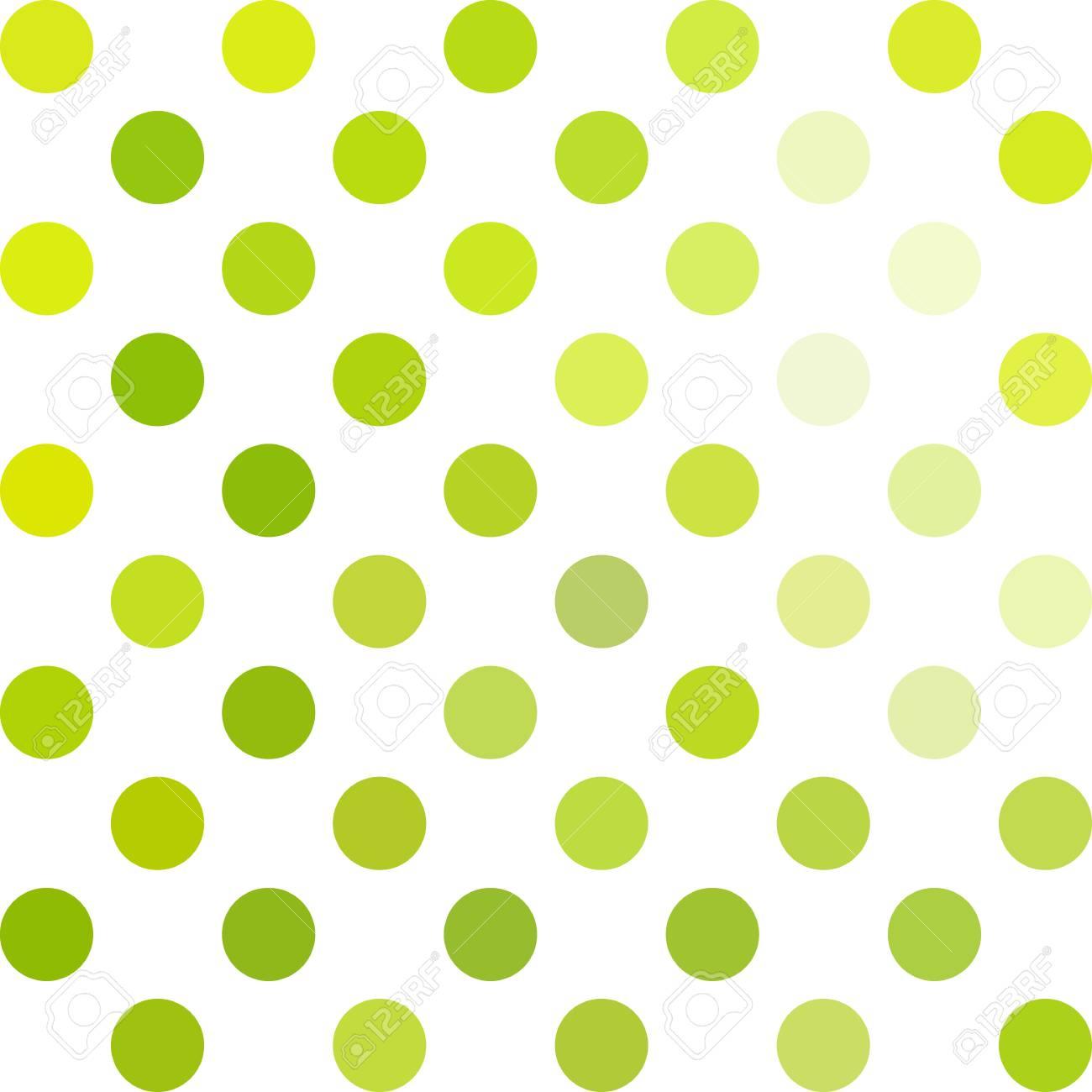 Green Polka Dots Background, Creative Design Templates Royalty Free ...