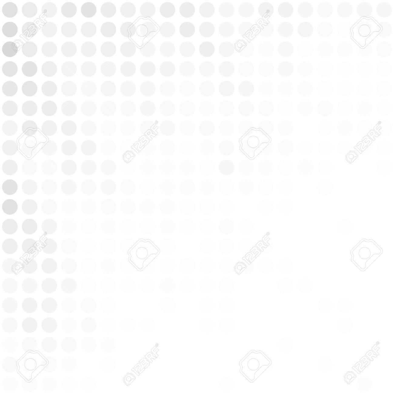 Grau Weiß Zufalls Dots Hintergrund, Kreatives Design Vorlagen ...