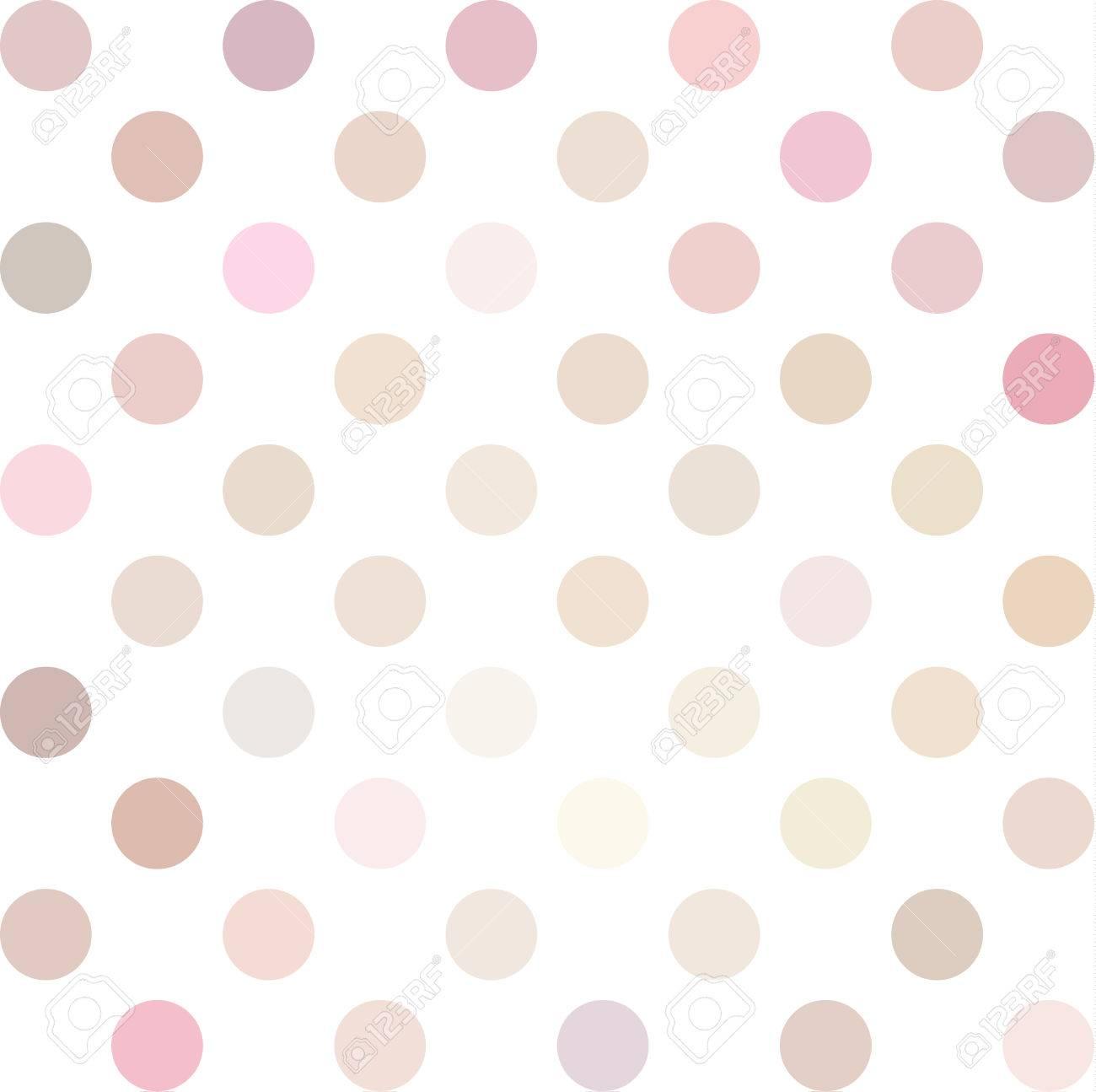 Pink Polka Dots Background Creative Design Templates Royalty Free