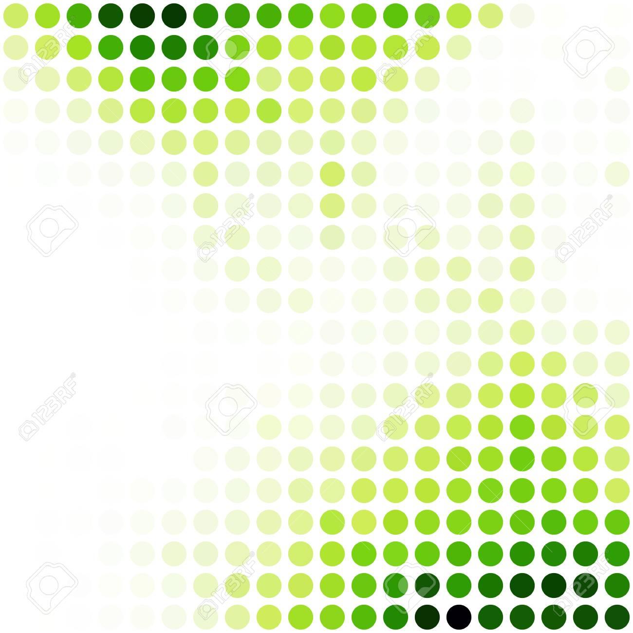 Grün Zufalls Dots Hintergrund, Kreatives Design Vorlagen Lizenzfrei ...