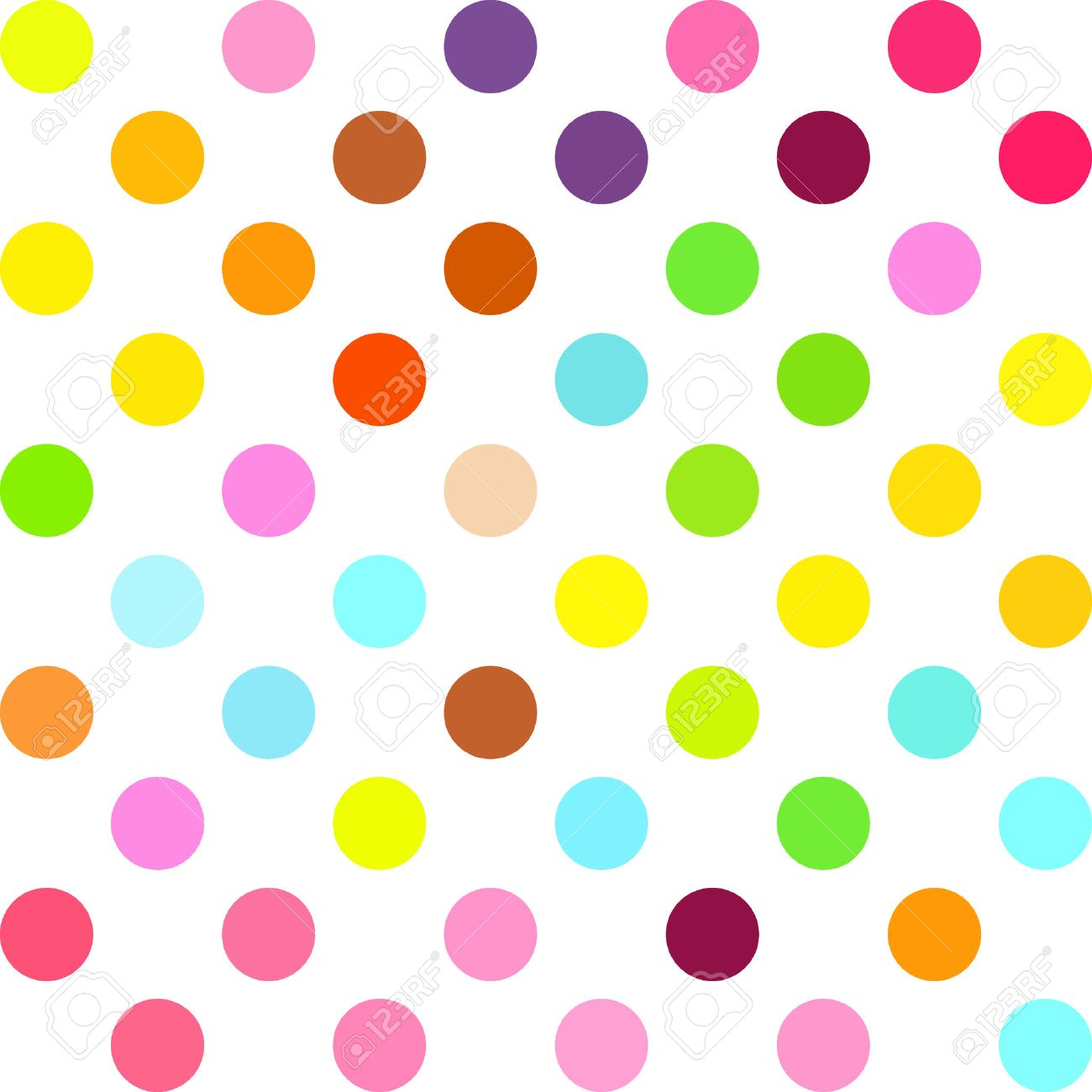 Colorful Polka Dots Background, Creative Design Templates Royalty ...