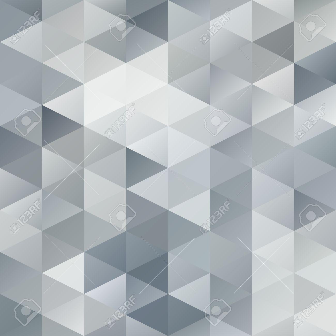 Grau, Weiß, Gitter Mosaic Hintergrund, Kreatives Design Vorlagen ...