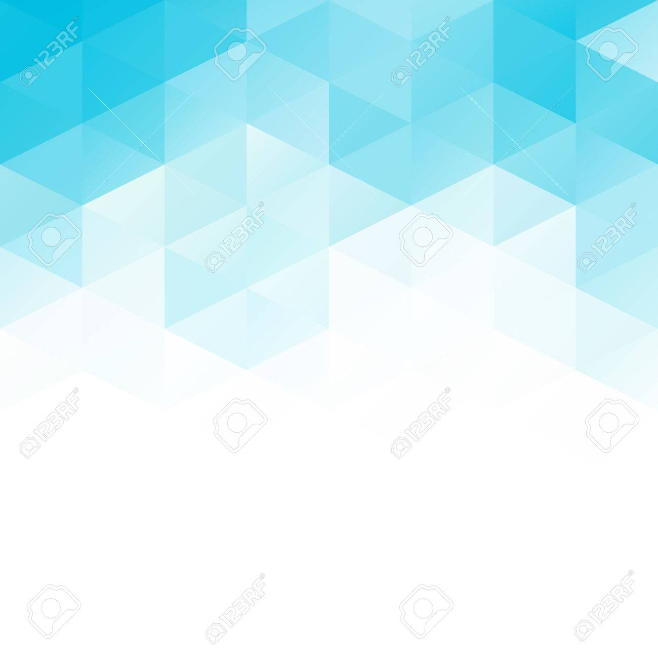 Blue Grid Mosaic Background, Creative Design Templates Royalty ...