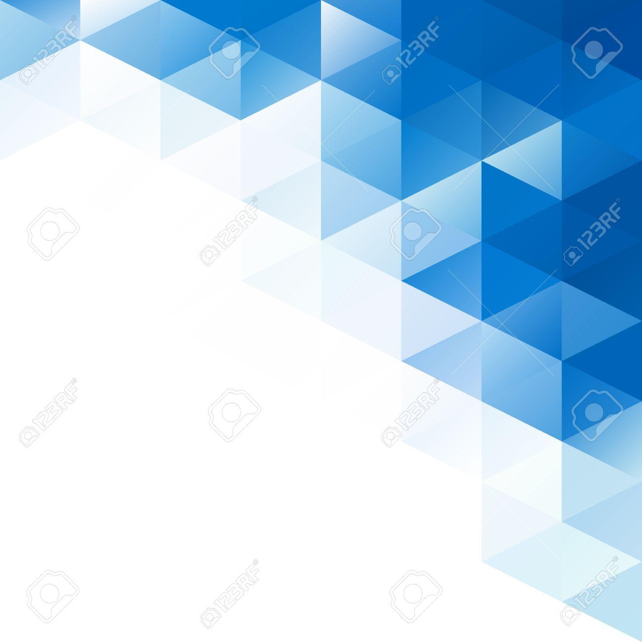 blue grid mosaic background creative design templates royalty