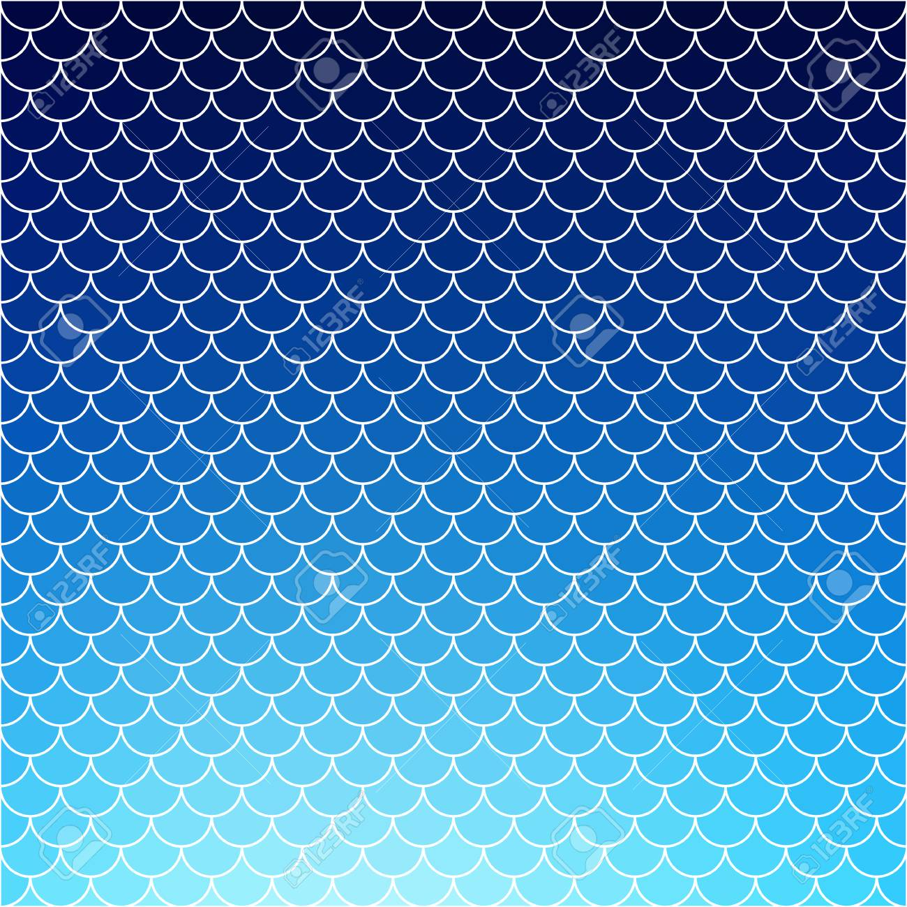 Blue Roof Tiles Pattern, Creative Design Templates Royalty Free ...