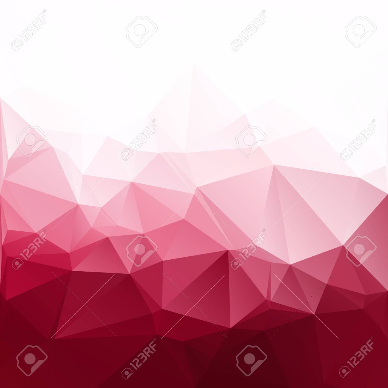 red polygonal mosaic background creative design templates royalty