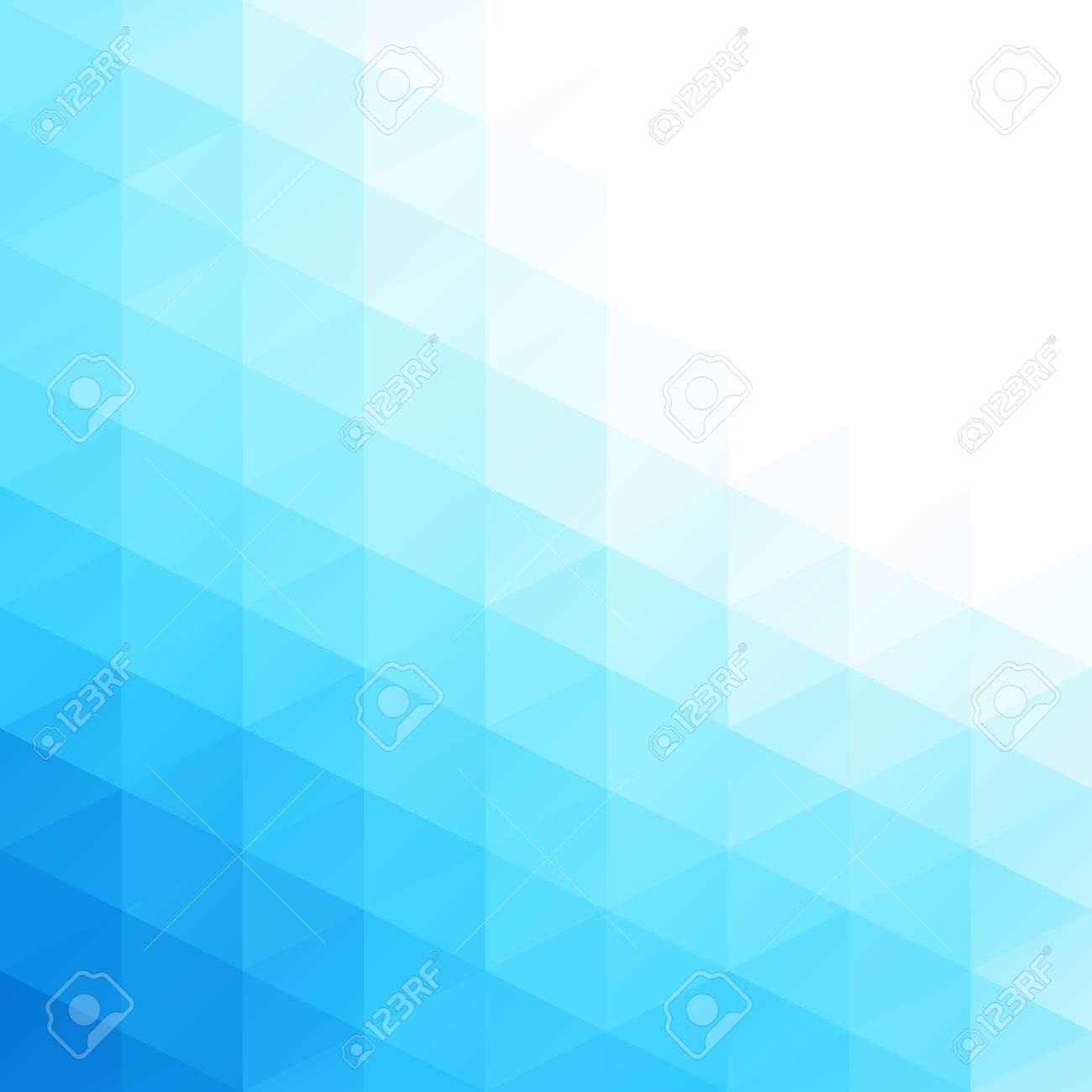 blue grid mosaic background creative design templates royalty free