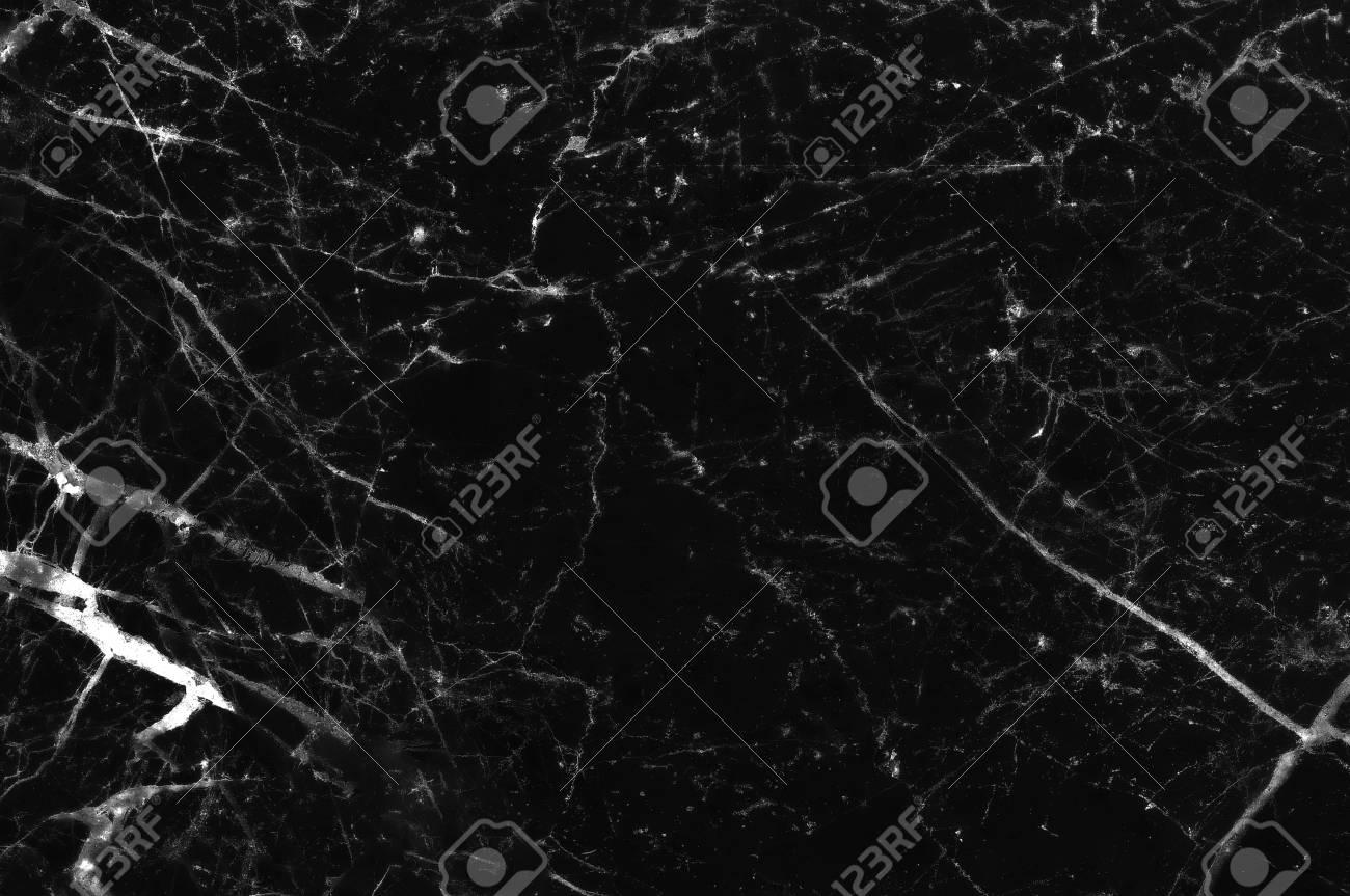 Schwarz Weiss Marmor Stein Naturlichen Muster Textur Hintergrund Und