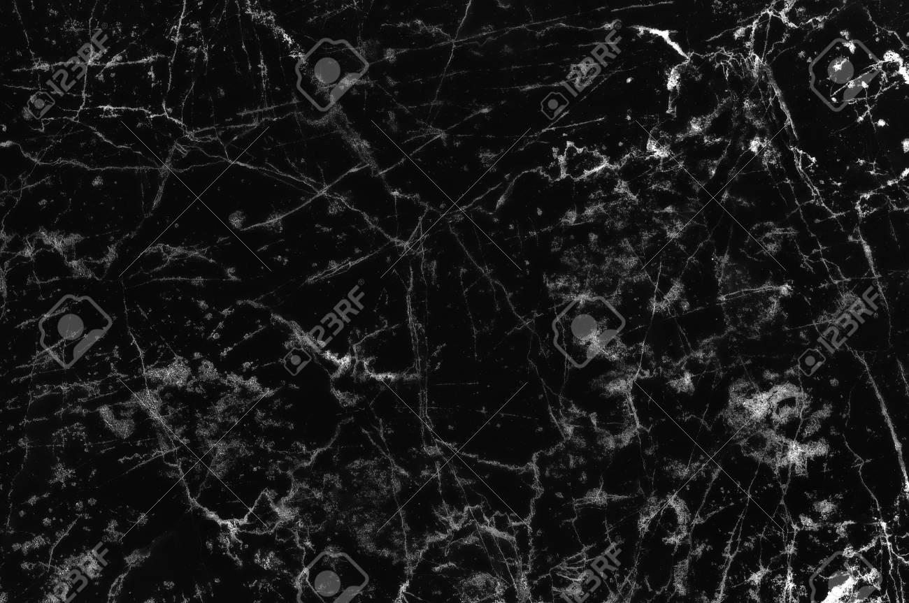 黒と白の大理石石の自然のパターン テクスチャ背景とインテリア タイル