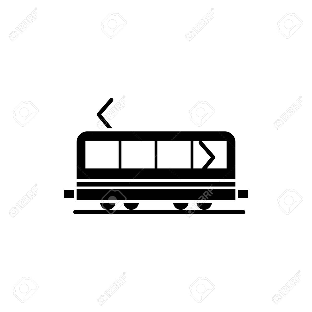 Illustration Vector graphic of train icon. Fit for transportation, subway, railway etc. - 152948115