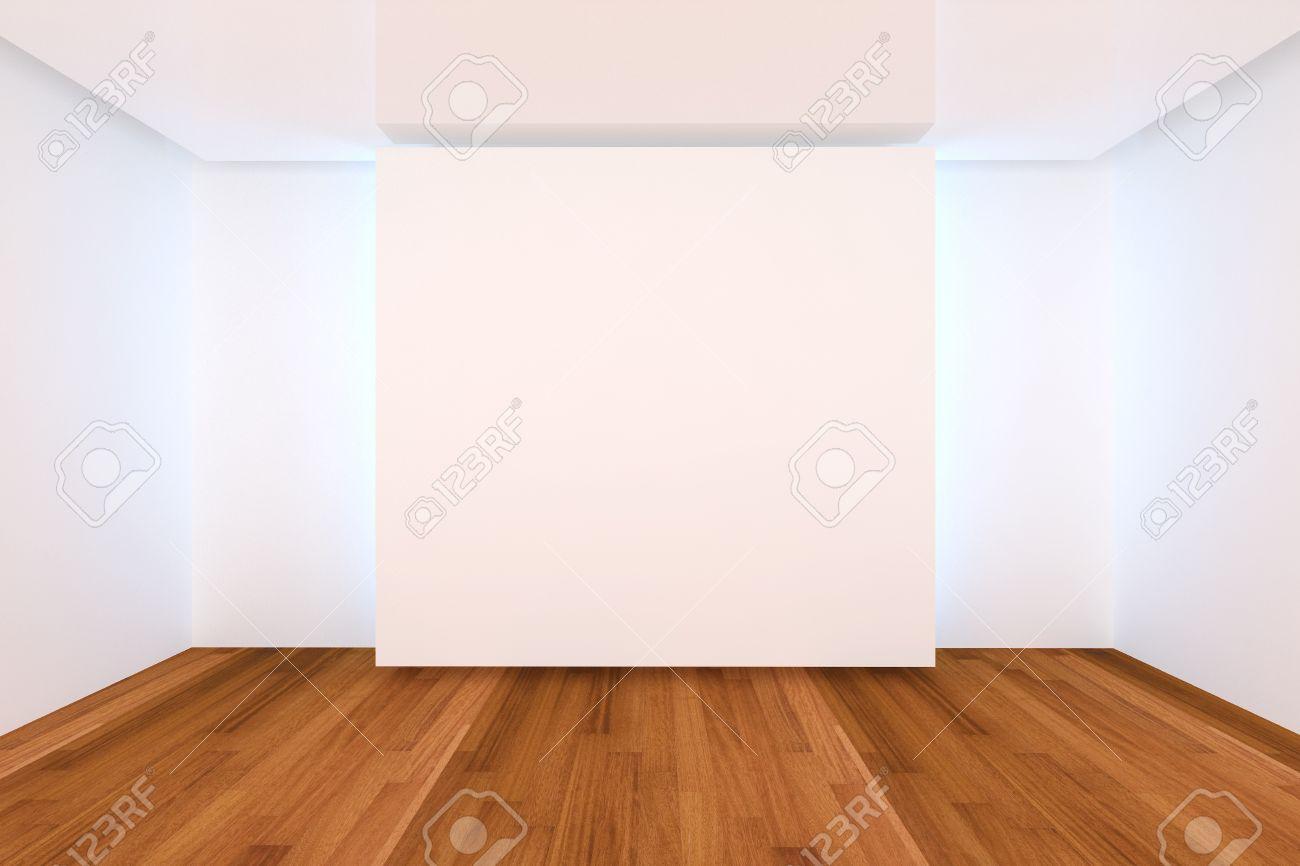 interior de una casa de con la pared vaca sala de color y piso de