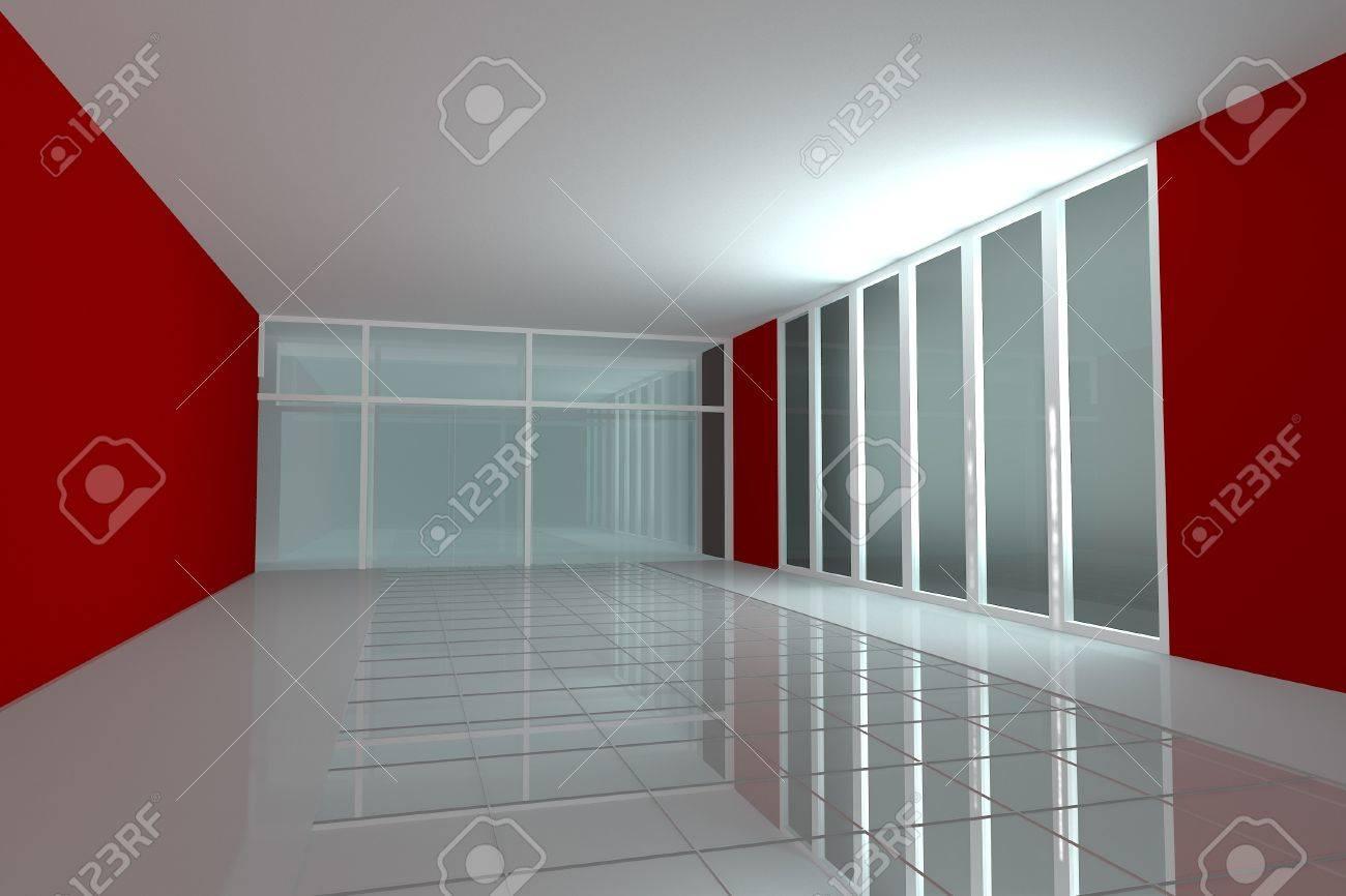 Chambre vide pour salle de séminaire mur intérieur de couleur ...