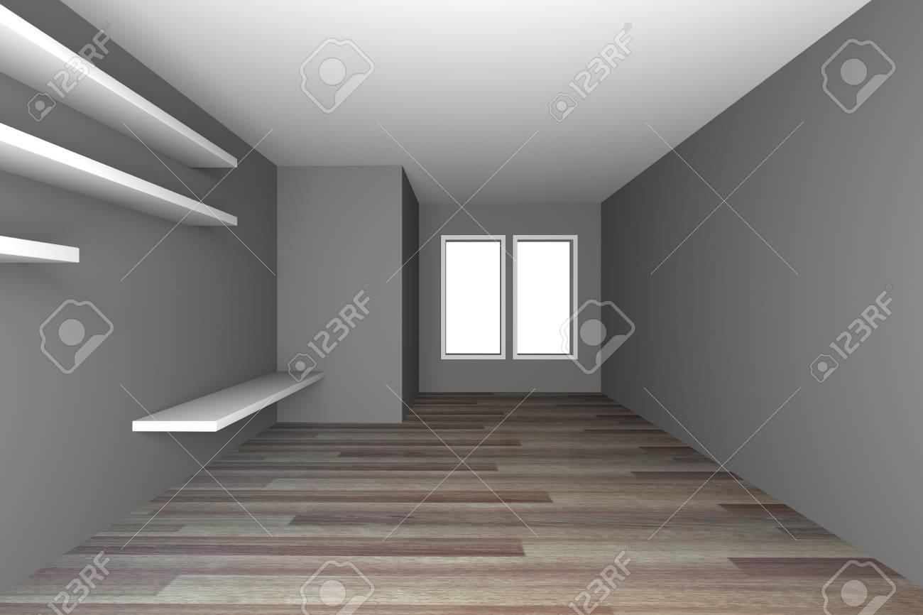 Holzfußboden Grau ~ Kuche modern grau holz kochinsel holzboden inspirierend schon