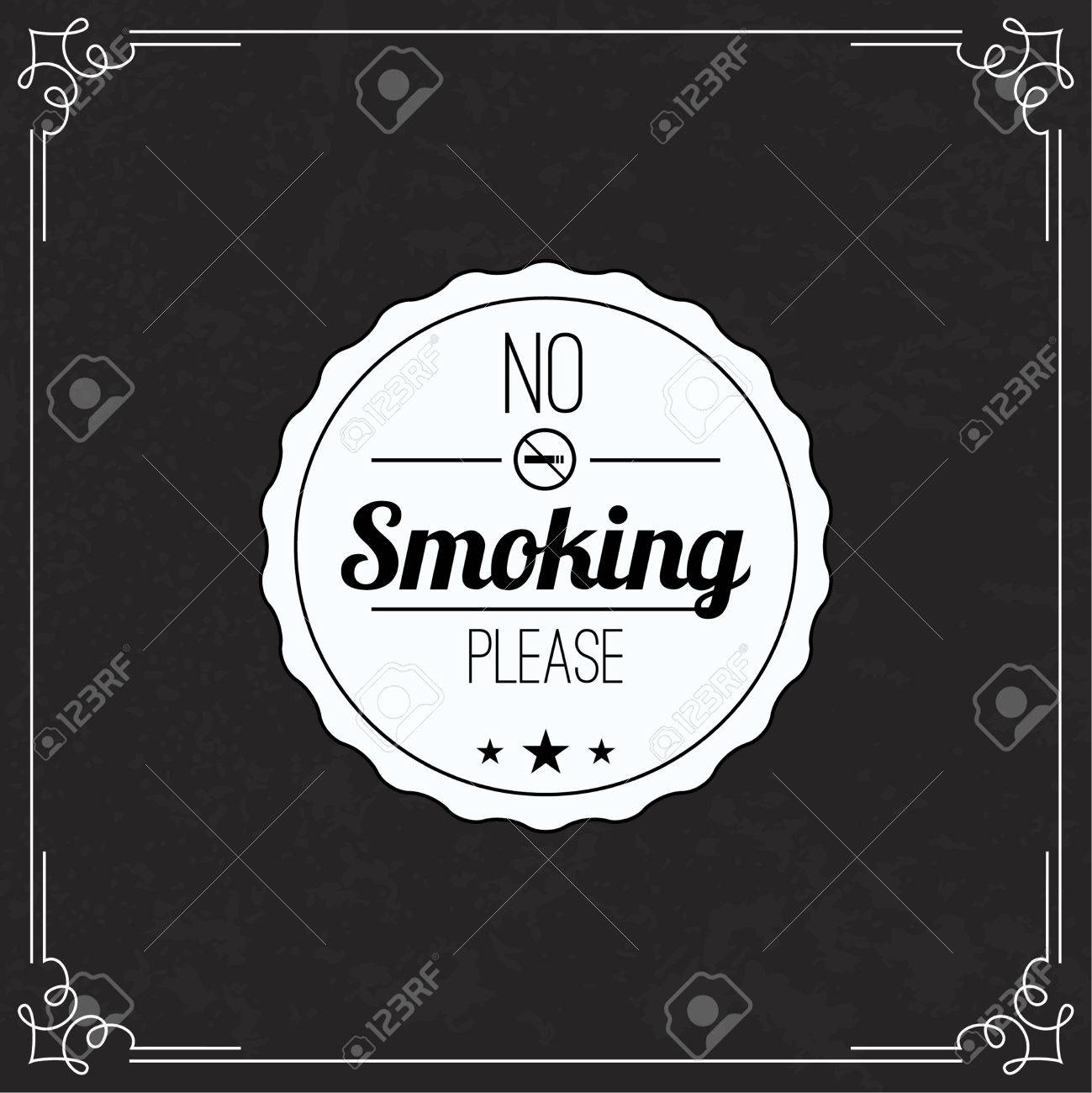 Please no smoking label no smoke tag stop smoking symbol old please no smoking label no smoke tag stop smoking symbol old vintage frame buycottarizona Images