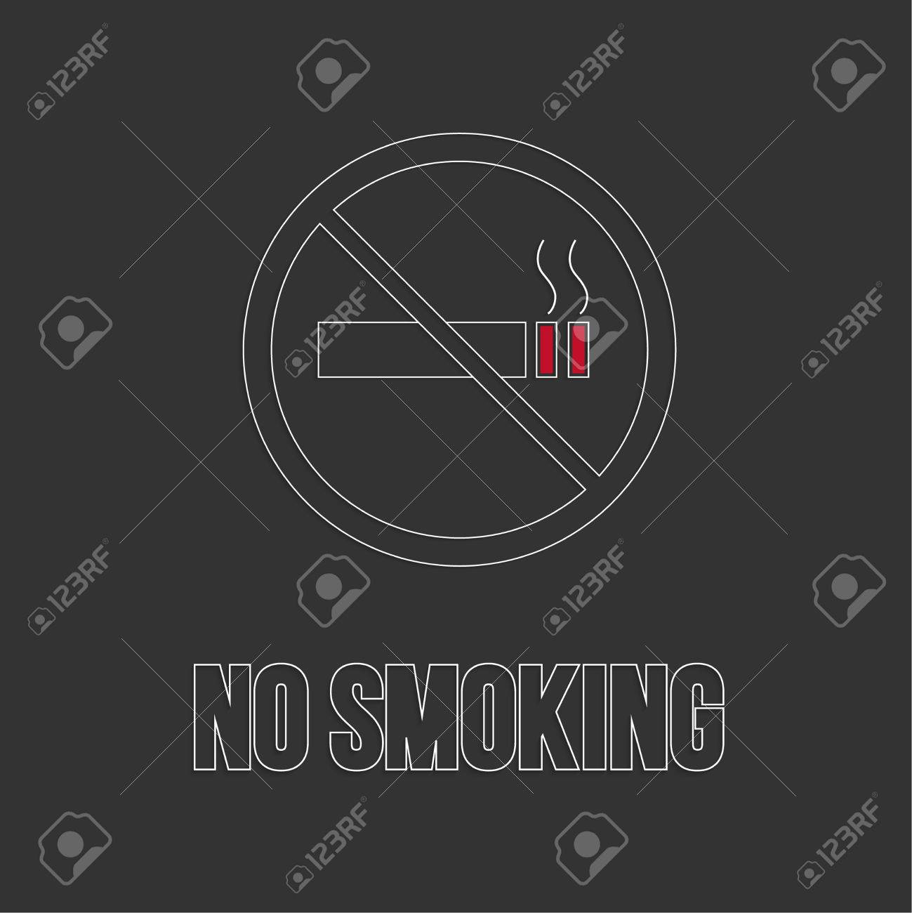 No smoking sign no smoke icon stop smoking symbol vector no smoking sign no smoke icon stop smoking symbol vector burning cigarette buycottarizona Images