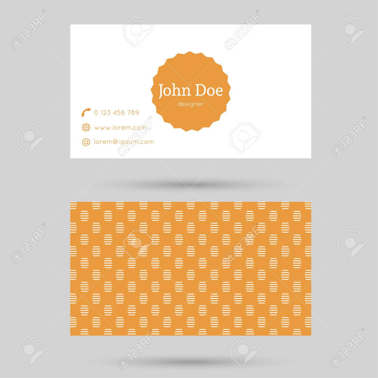Trendy business card template with vintage label and elegant trendy business card template with vintage label and elegant seamless pattern minimalism design gold colourmoves