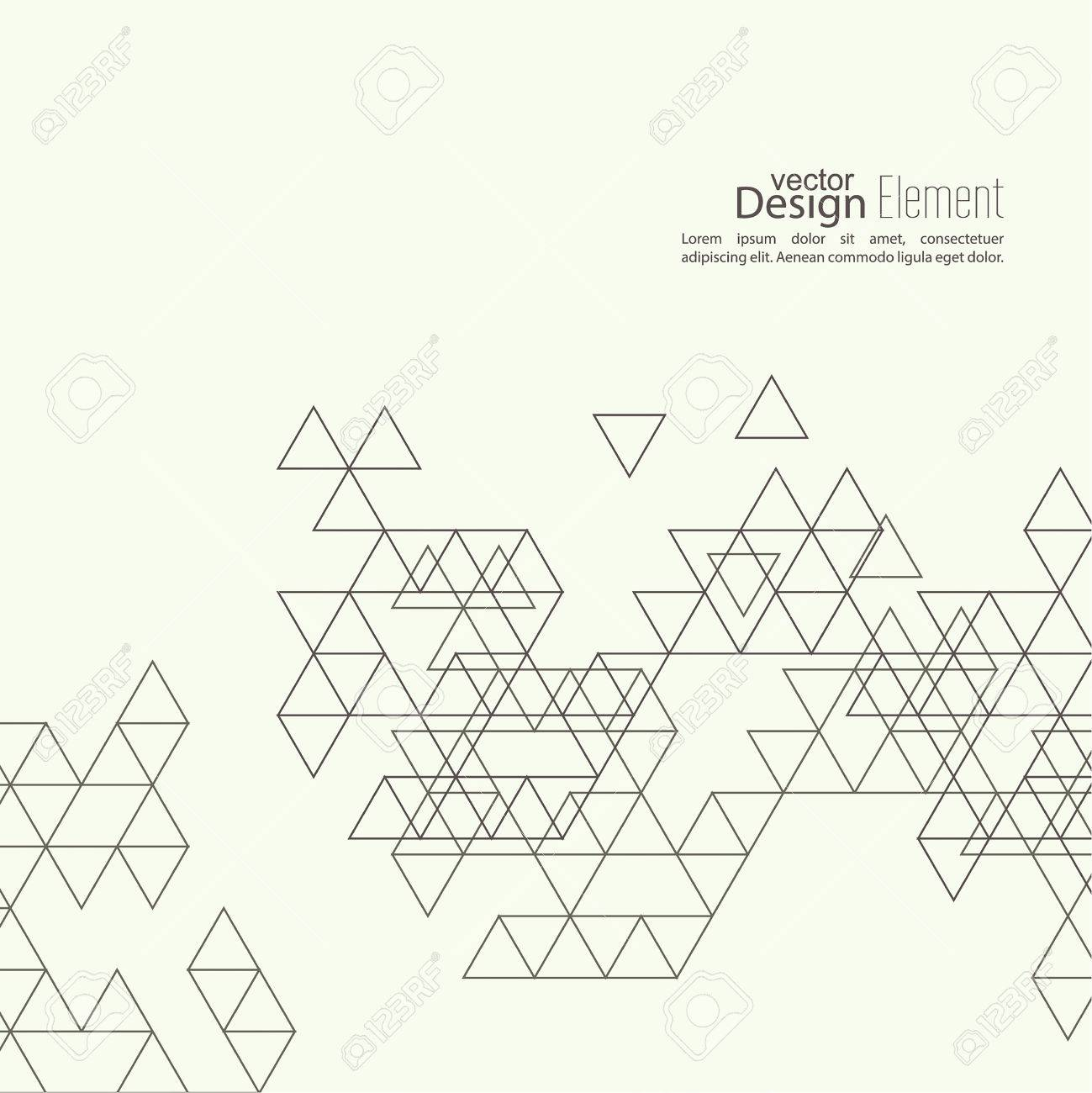 Creative abstract triangle pattern polygonal mosaic background for creative abstract triangle pattern polygonal mosaic background for book leaflet cd cover reheart Images
