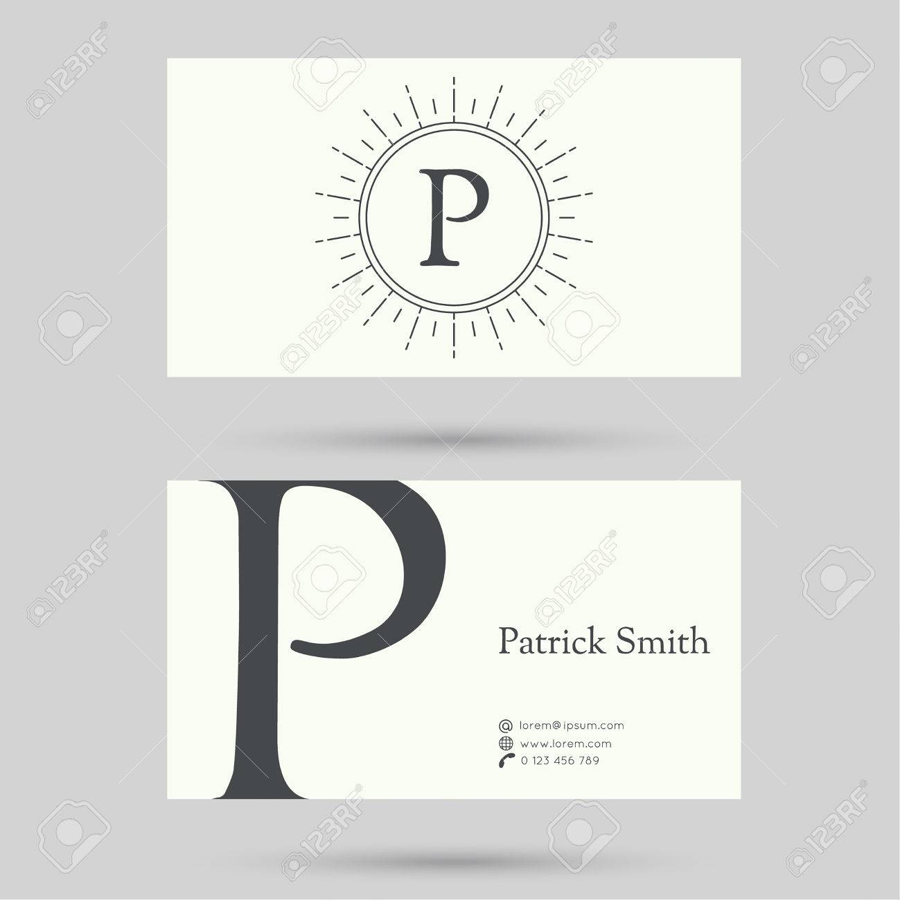 Trendy business card template with vintage hipster banners trendy business card template with vintage hipster banners insignias radial sunbusrt flat design colourmoves