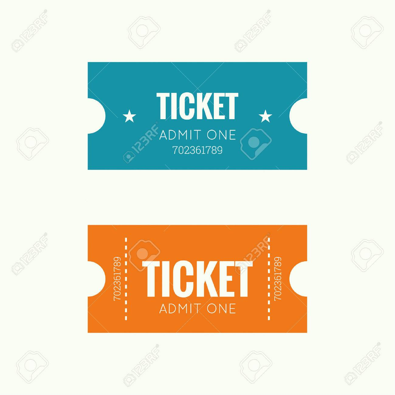 Entry ticket to old vintage style. Admit one theater, cinema, zoo, swimming pool, fair, rides, swing, amusement park, carousel. icon for online booking of tickets. Web and mobile app - 44488397