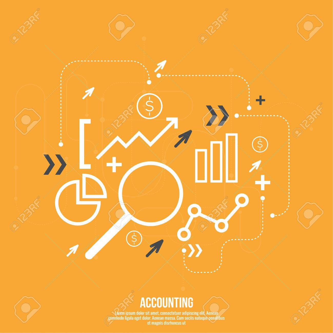 Analysis and Financial Management Report and Forecast. Stock market indicators and statistics data. - 45220251