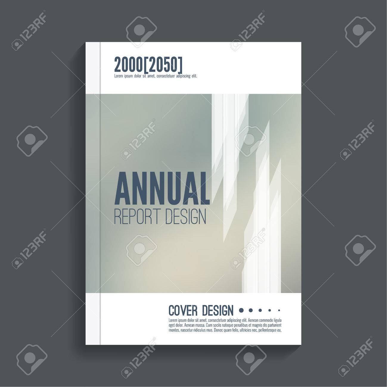 Brochure Annual Report. Cover For Journal, Book, Magazine. Leaflet Flyer  Template A4  Free Report Cover Templates