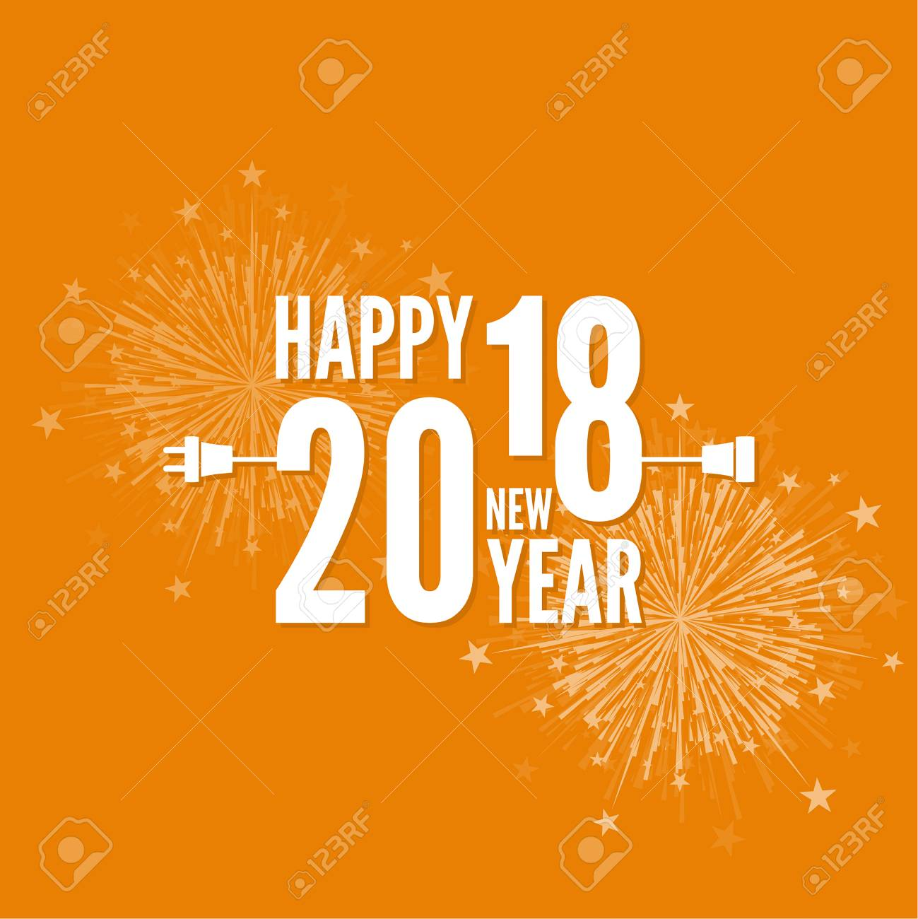 Happy New Year Flat Design 14