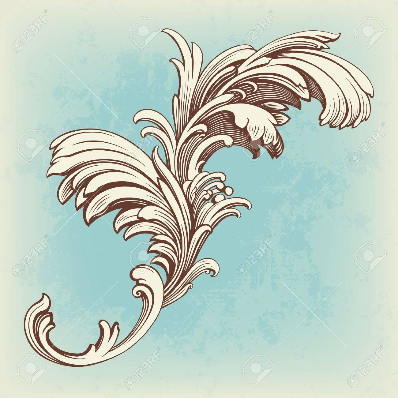 Scroll 1 Motif | JoAnn Hoffman | Digitized Quilting Designs