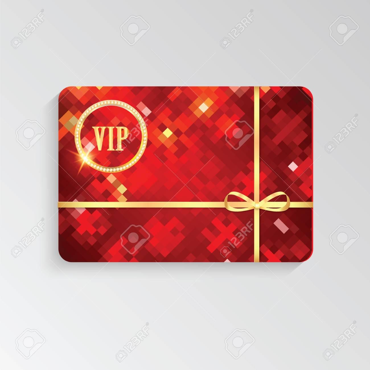 Tarjetas Vip Con Letras De Oro Y Ribbon Elegant Invitación Vip Tarjeta