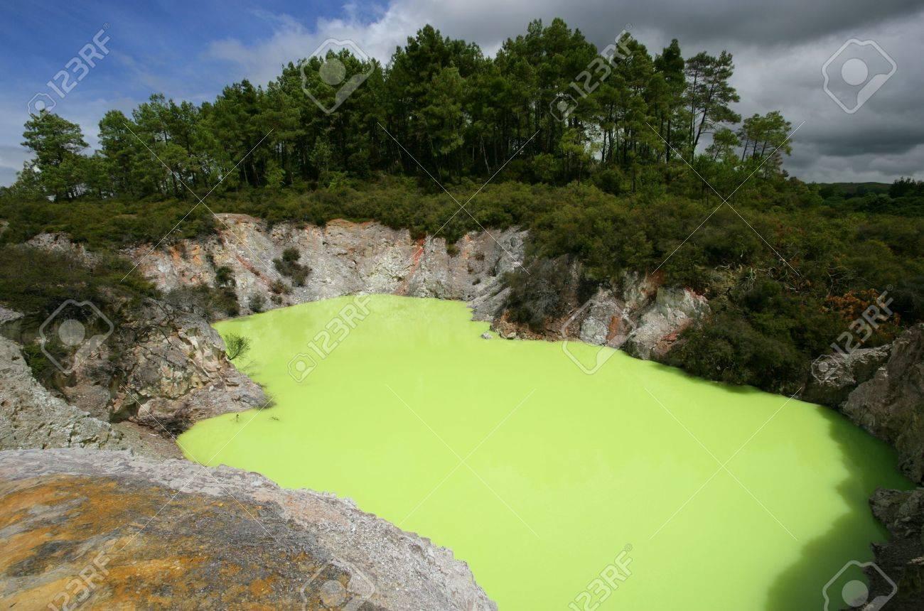 sulphur in water