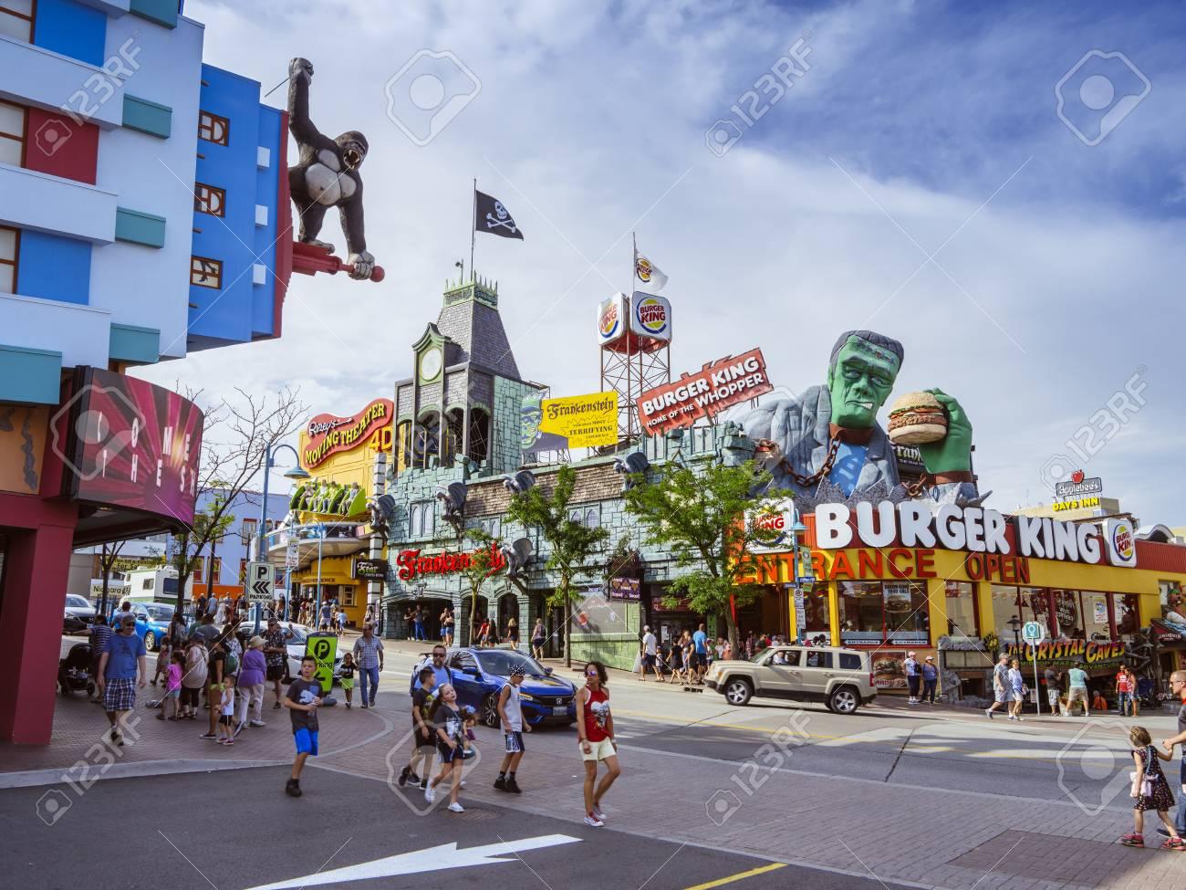 Niagara Falls Ontario Canada July 29 2018 Ripley S Moving