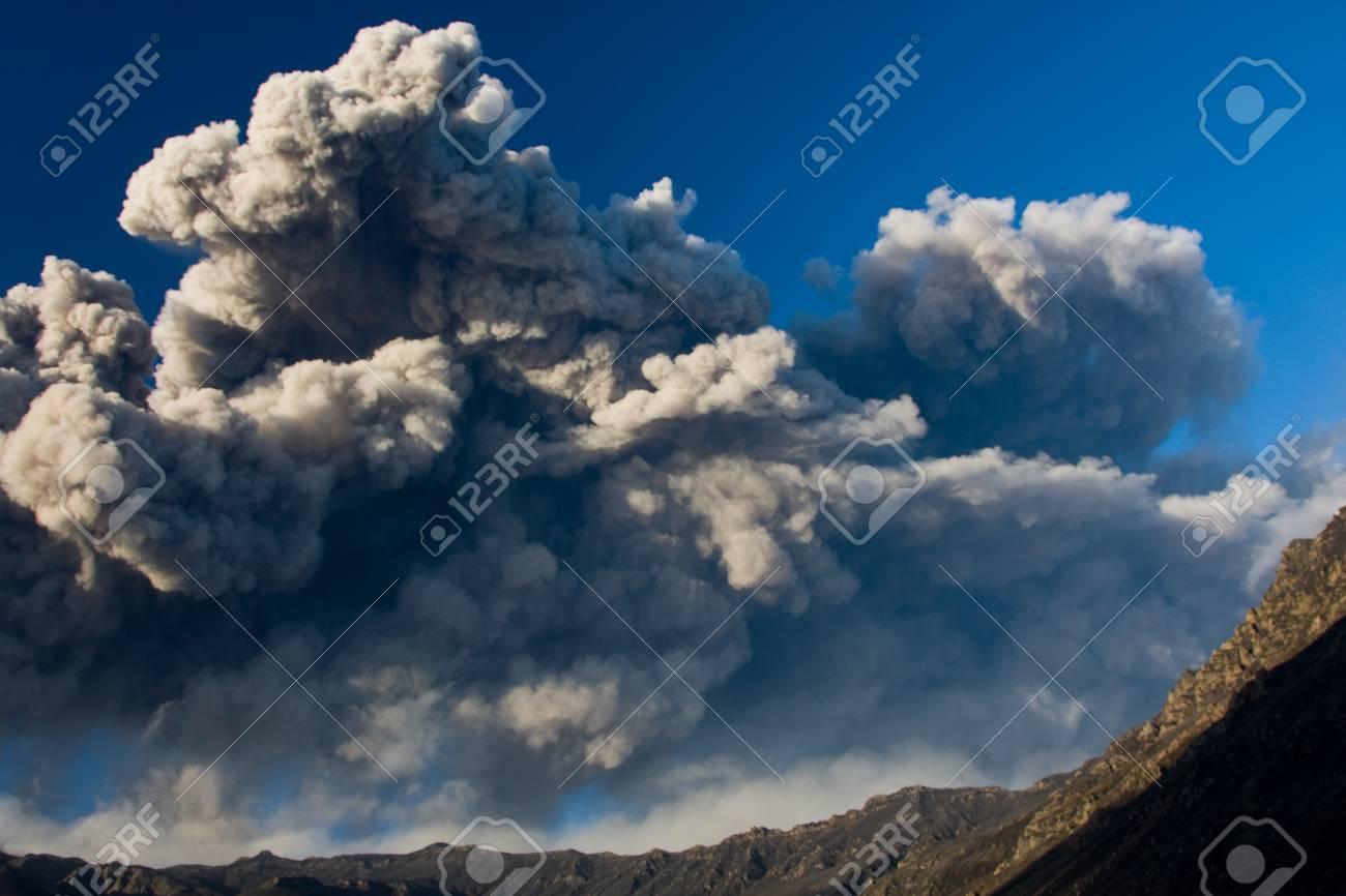 volcanic eruption in Iceland Stock Photo - 14590710