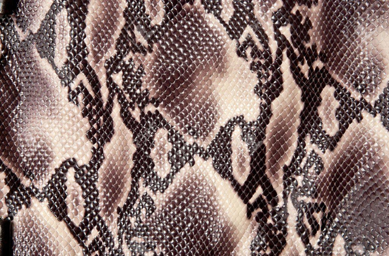 Seamless texture backgroun brown snake leather Stock Photo - 8314661