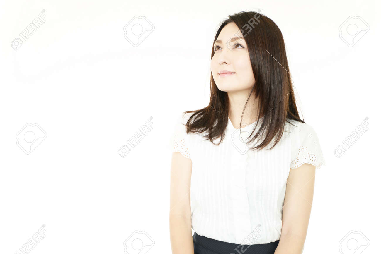 Smiling business woman Stock Photo - 15103126