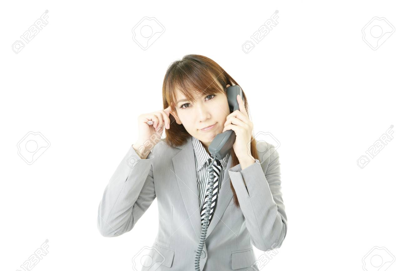 Stressed Business Woman Stock Photo - 15922066