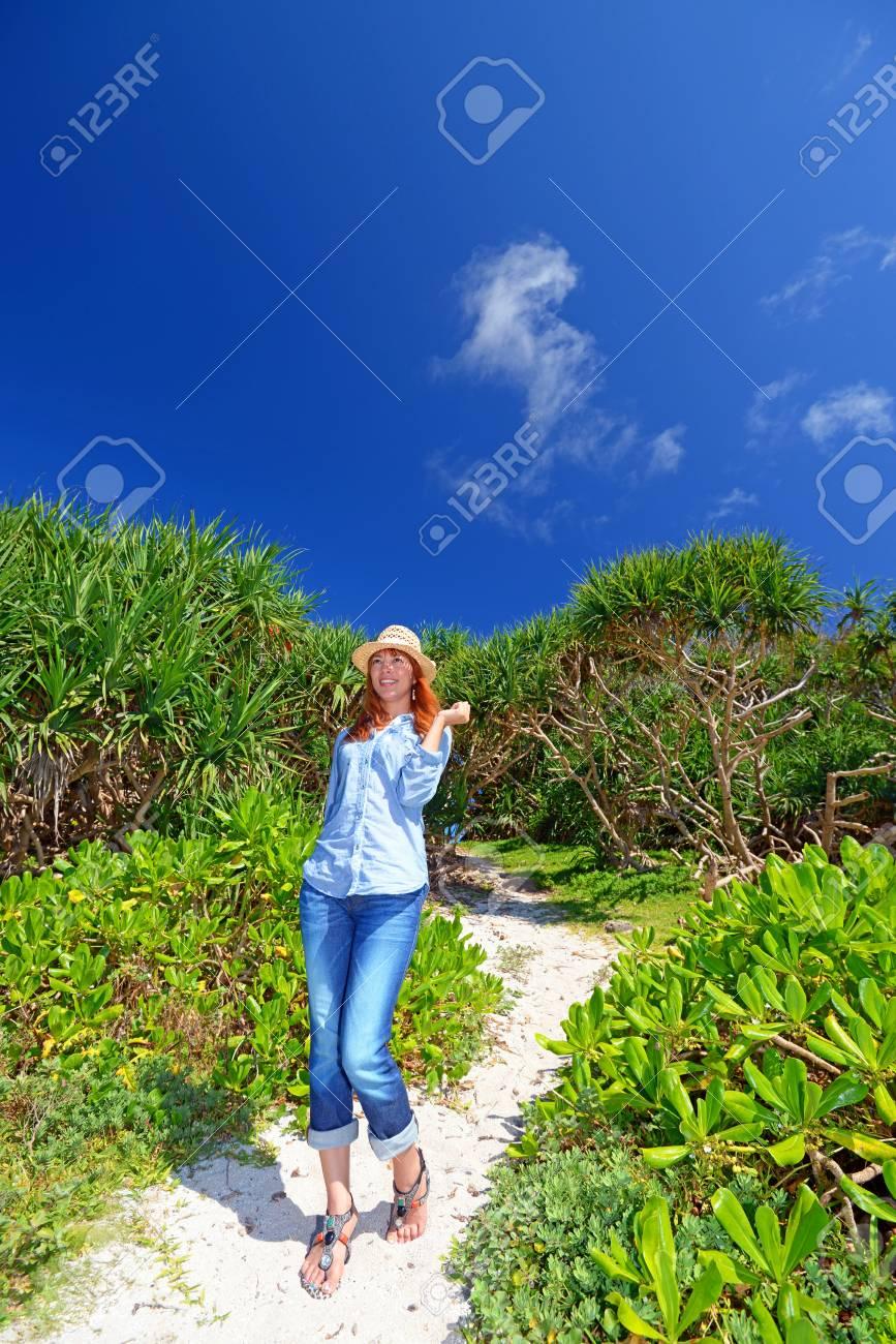 Women enjoy the sun Stock Photo - 15242672