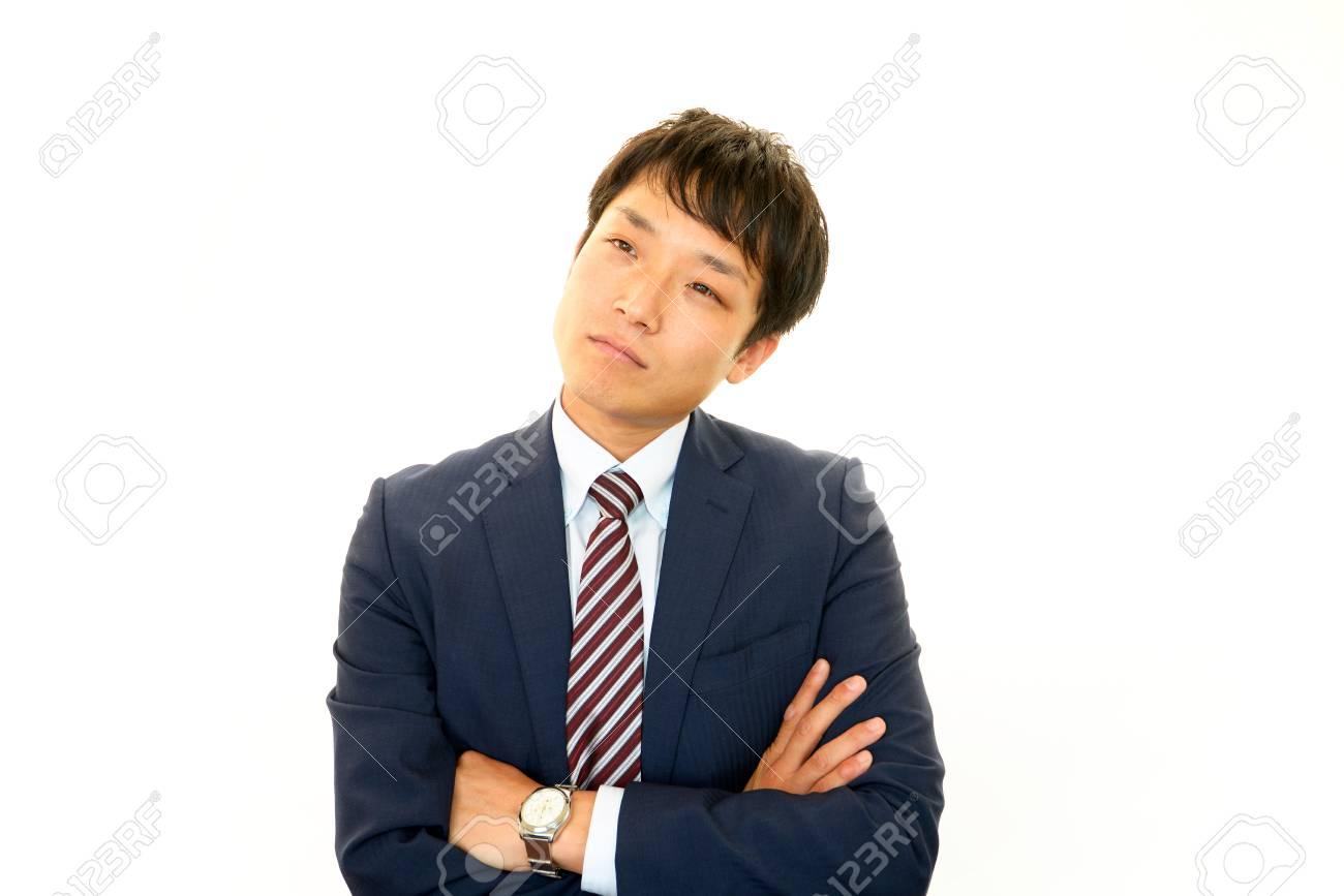 Depressed businessman Stock Photo - 15727085