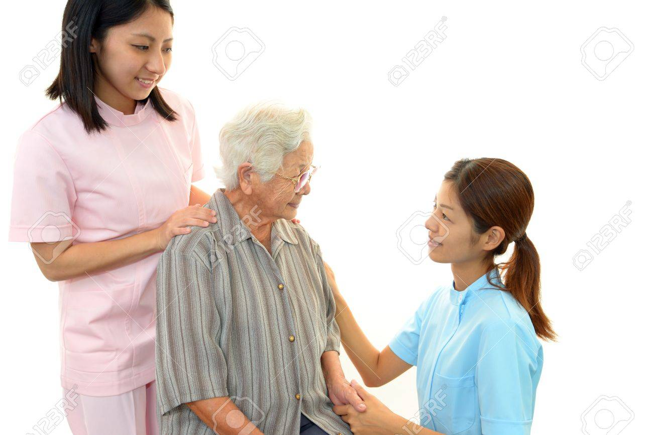 Woman Elderly Smile Stock Photo - 16029035