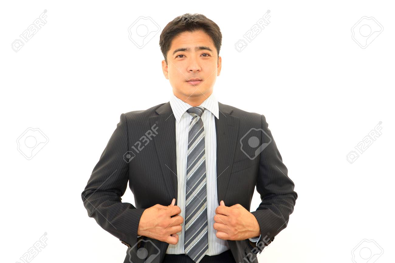 Smiling businessman Stock Photo - 16484356
